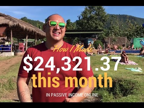 Passive Income Report: Digital Nomad in Chiang Mai (November 2016)