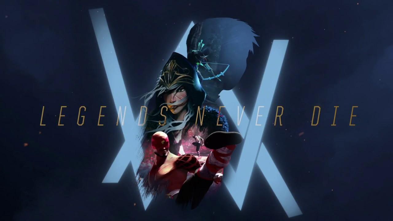 Legends Never Die(Remix)-Alan Walker (Chung kết thế giới Liên minh huyền  thoại 2017)