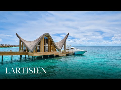 Joali Maldives. Visit with the co-founders of Grand Luxury Hotels.