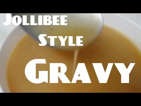 how to make easy Jollibee Style Gravy Sauce | MediCusina OFW Recipe