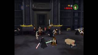 Massive Battle in Lego Star Wars the Video Game