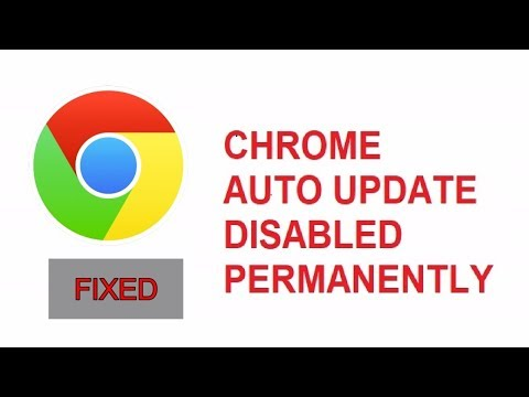 download How To Disable Auto Update on Google Chrome FIXED