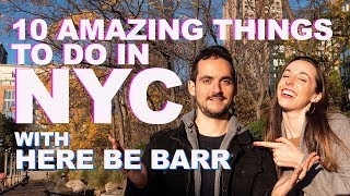 Gambar cover 10 Amazing Things to do in NYC featuring Here Be Barr