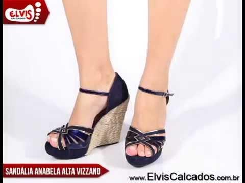 c15907485f Sandália Anabela Alta Vizzano 6215234 - YouTube