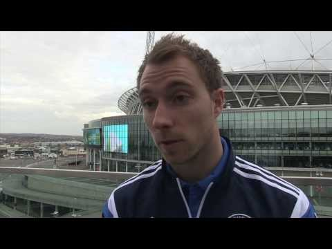 Christian Eriksen: Emotional Sherwood can get Spurs in the top four