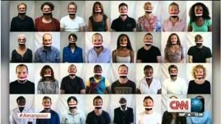 Amanpour covers #FreeAJStaff