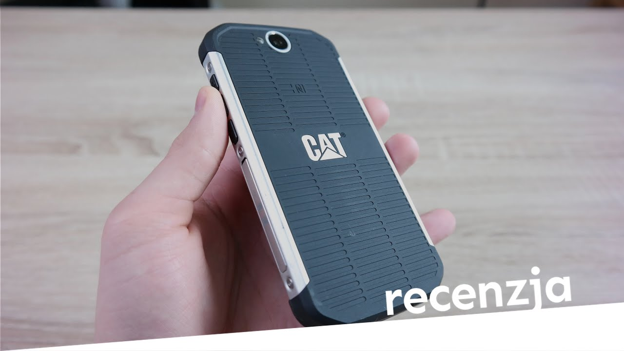 CAT S40 Recenzja Test Opinia Review (PL)
