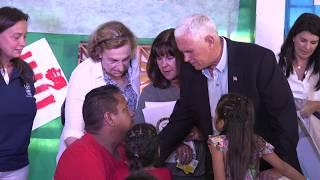 Vice President Mike Pence Visits Venezuelan Refugees