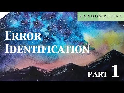Error Identification by ครูแบงค์