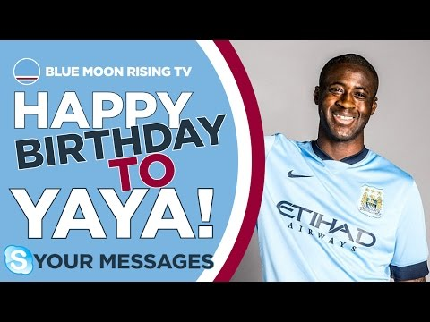 HAPPY BIRTHDAY YAYA TOURE! | Skype Messages | Manchester City