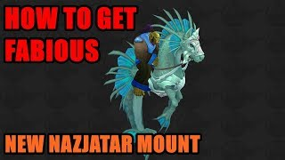 How to get FABIOUS MOUNT 100% drop rate