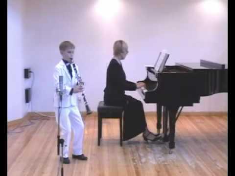 clarinet Sergey Zaporozhets Mozart Sonatina
