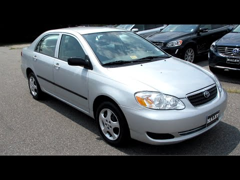 2007 Toyota Corolla CE Walkaround, Start up, Tour and Overview