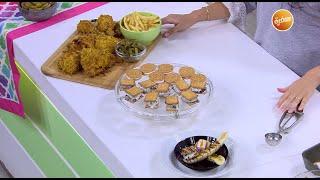 دجاج مقلي في الفرن - بسكويت بالآيس كريم | عمايل إيديا (حلقة كاملة)
