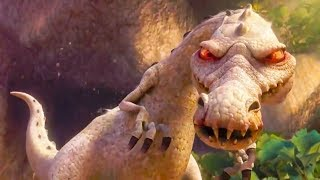 Ice Age 3: Dawn Of The Dinosaurs (2009) - Buck Vs Rudy Battle Scene! - Movieclip HD