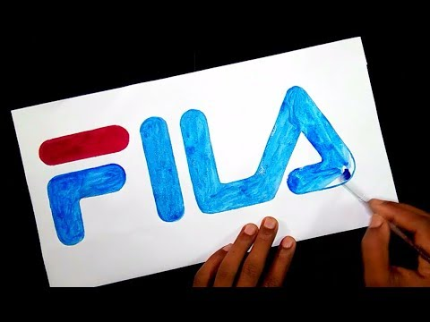 How To Draw The Fila Logo