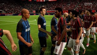Fifa 18 | ac milan vs inter milan - full gameplay (ps4/xbox one)