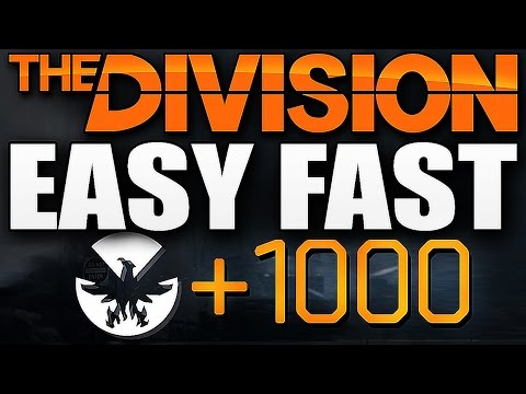 The Division - EASY FAST PHOENIX CREDITS !!