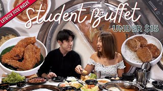 Student Buffets For Under $15!!!   Eatbook Food Guide   EP 40