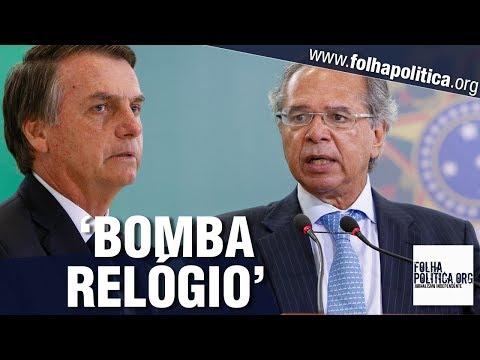Ministro da Economia de Bolsonaro, Paulo Guedes fala sobre 'bomba relógio' e 'arma de dest..