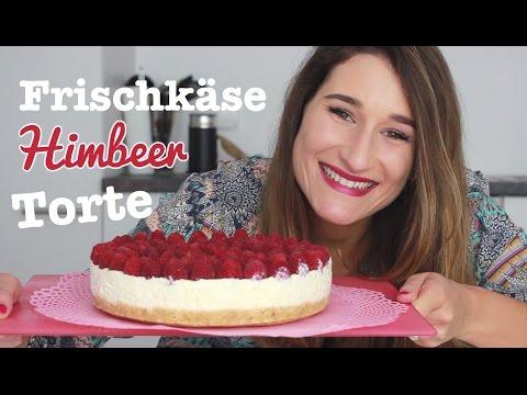 Rezept: Frischkäse-Kuchen Mit Himbeeren - Ohne Backen / Kühlschranktorte