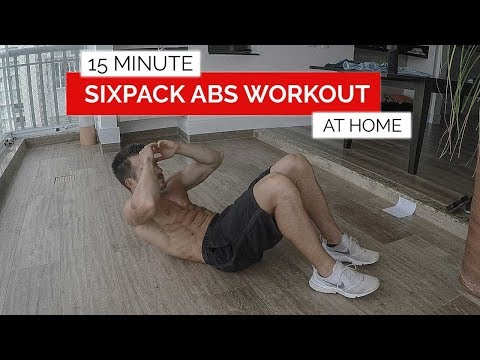 Sixpack Abs Workout | Home Edition | 15 Minutes Abs | Gym Performance