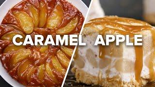 Caramel Apple Desserts 4 Ways