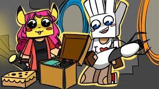 ч.02 Нашли Крутейший клад, Обмен Шапками - Minecraft Страшные приключения