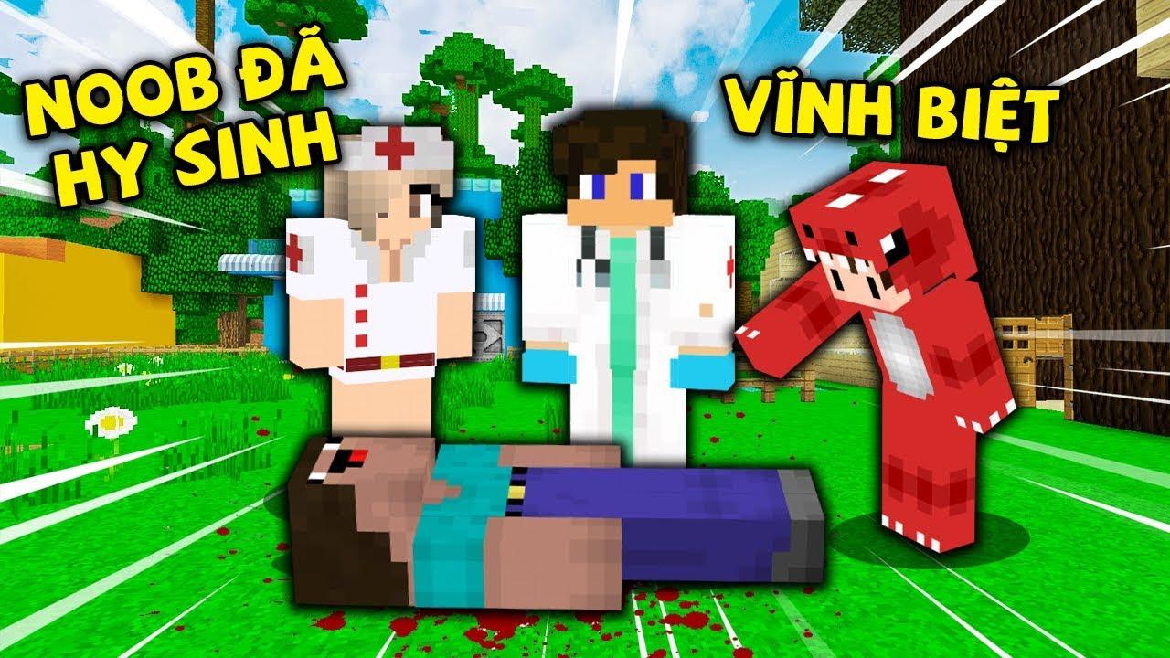 Rex Và Noob Công Nghệ Buồn Khi Biết Noob Đã Hy Sinh Trong Minecraft !!
