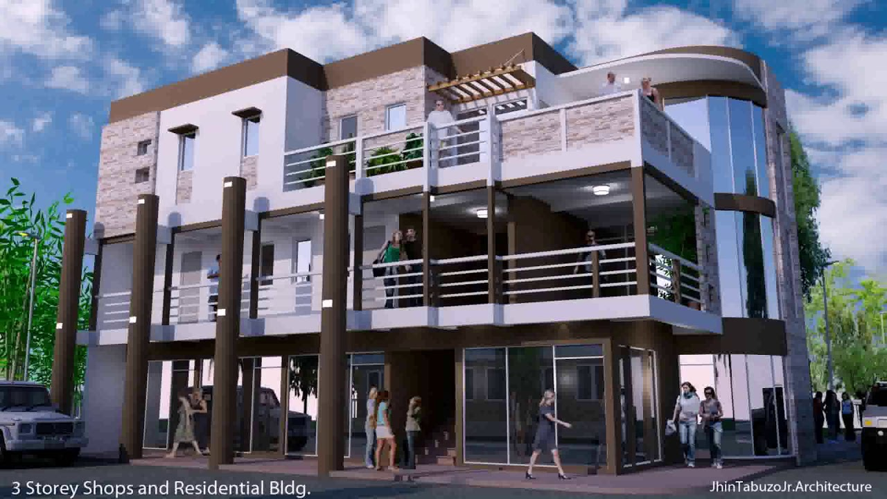 3 storey modern house design philippines