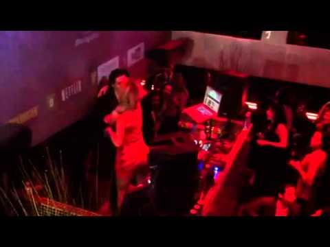 Sonja Morgan rocks out to Miley Cyrus at RHONY Premiere par