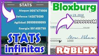 INFINITE STATS IN DBR AND INFINITE MONEY In Bloxburg Skisploit Roblox