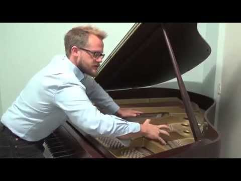 Brian Ciach, Fourth Piano Sonata Extended Techniques