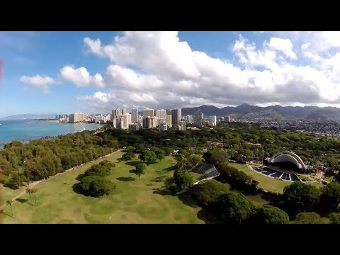 Waikiki Hawaii FPV Freestyle