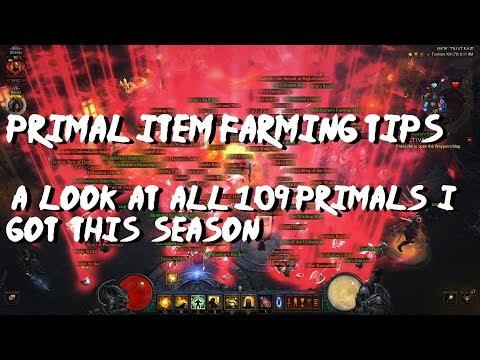 Primal Farming Tips & All 109 Primals I Found In The Season