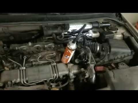 Очистка форсунок и клапанов 2.0 D 4D Toyota Avensis очистителем Pro Tec Про Тек