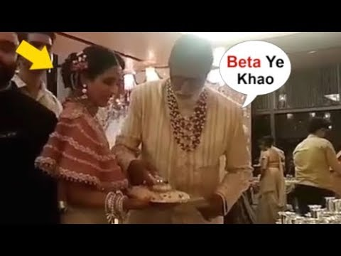 Amitabh Bachchan Serving FOOD To Guest At Isha Ambani's Wedding Proves He Is NICEST Man In Bollywood