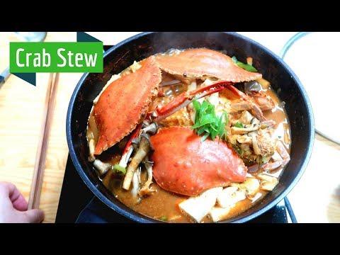 How to make Korean Spicy Crab Stew (ft. Fresh Flower Crabs)