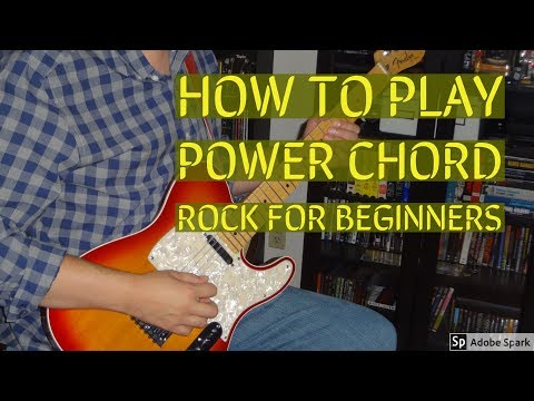 How To Play Power Chord Rock For Beginners