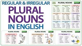 Plural Nouns Regular Irregular How To Make Plural Words English Grammar