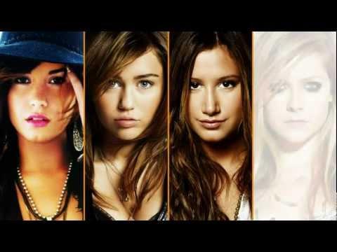 (HD) Demi Lovato Vs Miley Cyrus Vs Ashley Tisdale Vs Avril Lavigne - Vocal Battle: E3 - F5
