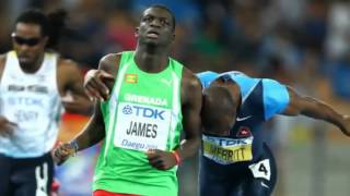 Kirani James Wins Mens 400m Gold