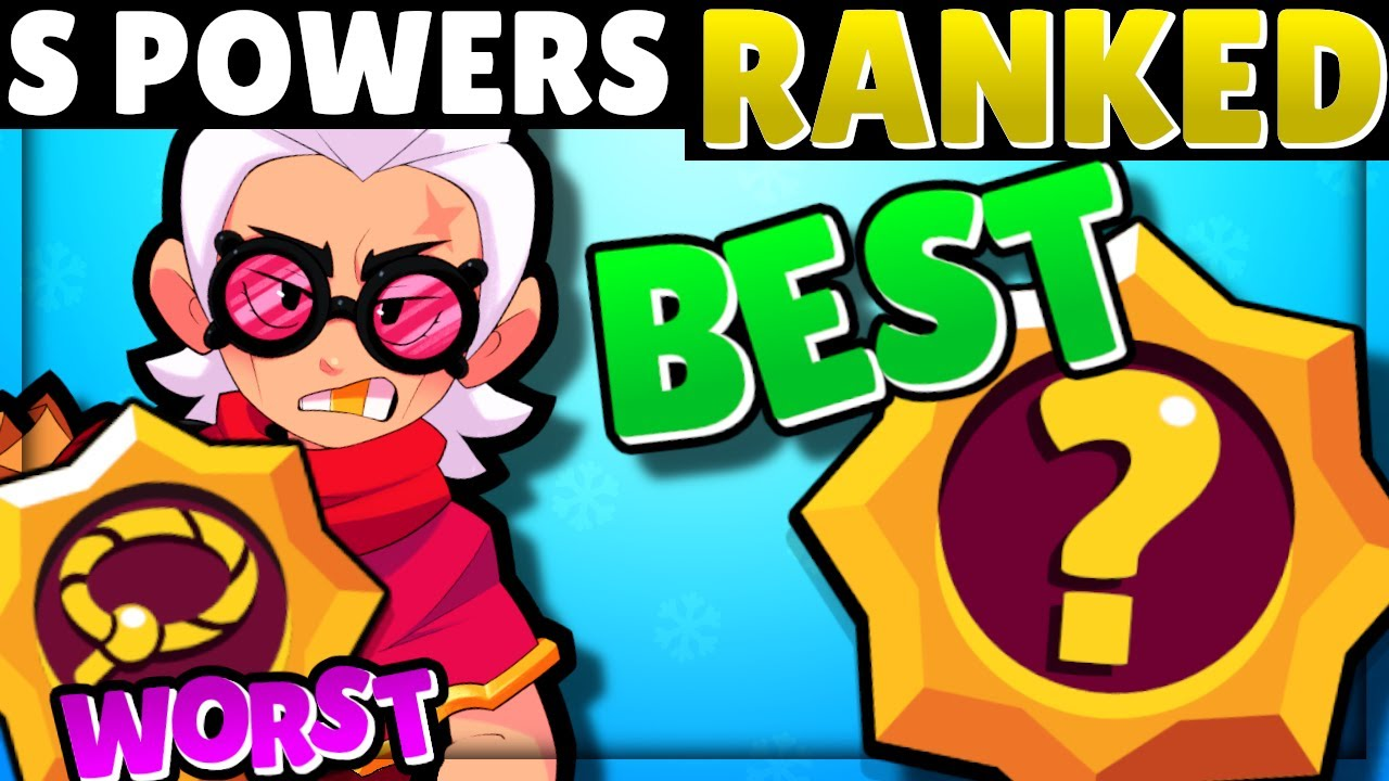 Download EVERY Star Power RANKED from WORST to BEST!   Star Power Tier List