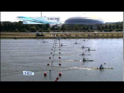 2014 ICF Canoe Sprint World Championships Moscow K1 1000m Men Final A