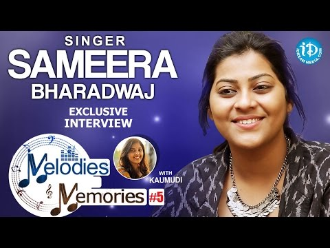Singer Sameera Bharadwaj Exclusive Interview || Melodies And Memories #5
