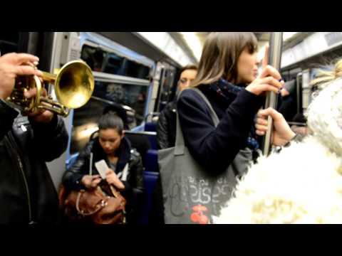 Muziek in Metro Paris