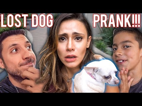 I LOST MY MOM'S DOG PRANK!! **SHE WAS MAD**