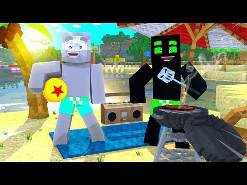 ROMAN & LARS CHILLEN AUF HAWAII ?! - Minecraft [Deutsch/HD]
