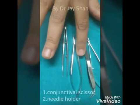 SUTURE PRACTISING IN OPHTHALMOLOGY