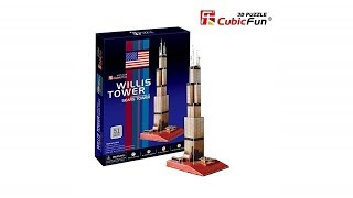 """La Torre Willis"" - ""Willis Tower"" | Puzzle 3D"